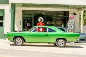 ethanol powered car